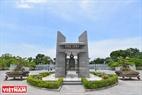 Nhà chuông Nghĩa trang Liệt sĩ Quốc gia Đường 9. Ảnh: Thanh Hoà