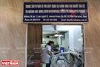 Căn phòng rộng chừng 30 m2 trên phố Minh Khai – Hà Nội hiện là nơi sản xuất dụng cụ chỉnh hình miễn phí cho người khuyết tật.