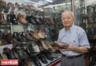 Những mẫu giày của ông Ngọc được khách hàng đánh giá là đi rất êm chân, thoái mái và có độ bền cao.