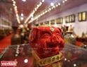 八场村泥陶猪成为2019己亥年春节的上佳礼物。