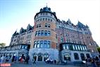 Thành phố cổ Quebec với những nét kiến trúc cổ còn được bảo tồn nguyên vẹn.