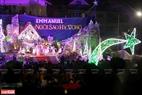 Chương trình văn nghệ chào mừng Giáng sinh ở nhà thờ Thánh Tâm, Đà Lạt. Ảnh: Thanh Giang