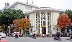 Những hàng cây thay lá tô điểm thêm cho vẻ đẹp cổ kính của phố sách Đinh Lễ. Ảnh: Thanh Giang