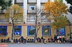 Đường phố Hà Nội những ngày này đẹp như trời Âu mùa thay lá. Ảnh: Thanh Giang