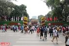 Lễ hội Hoa anh đào Nhật Bản 2019 được diễn ra trong 4 ngày (từ 29/3 đến hết ngày 1/4/2019) tại khu vực vườn hoa tượng đài Lý Thái Tổ, Hà Nội.