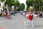 Đoàn diễn viên xiếc đến từ nhiều nơi đem đến lễ hội những tiết mục xiếc điêu luyện.