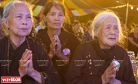 Vu Lan báo hiếu ở chùa Kim Sơn Lạc Hồng