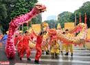 Sự khỏe khoắn trong từng điệu múa được các đội thể hiện hết mình.