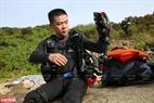 Thành viên trong nhóm tham gia lặn biển dọn rác ở Đà Nẵng đều được cấp chứng nhận lặn Quốc tế.
