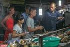 Khu ẩm thực là nơi đón tiếp rất đông du khách tới thưởng thức các món hải sản tươi roi rói. Ảnh: Lê Minh