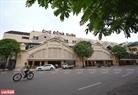 Chợ Đồng Xuân vốn là nơi sầm uất nhất của Hà Nội nhưng nay cũng vắng bóng người qua lại. Ảnh: Công Đạt