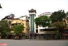 Khu vực nhà hát múa Rối nước Thăng Long trên phố Đinh Tiên Hoàng. Ảnh: Thanh Giang