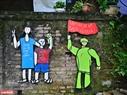 Thông điệp sống xanh trong tác phẩm của một nghệ sĩ nước ngoài Goerge Burchett đang sinh sống và làm việc tại Hà Nội.