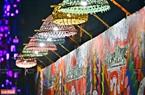 """Tác phẩm """"Sắc màu"""" của kiến trúc sư Diego Chula lung linh khi lên đèn."""