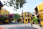Yellow houses in Hoi An ancient town. Photo: Thanh Hoa