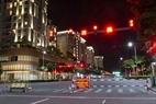 Chốt kiểm soát ngay đường vào Khu đô thị Sa La TP. Thủ Đức, TP.HCM.