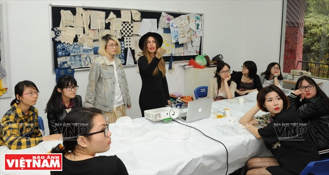 A Woman Who Supports Vietnam's Fashion Industry