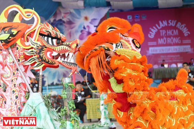 Vietnam dragon dances get international applause - Vietnam Pictorial