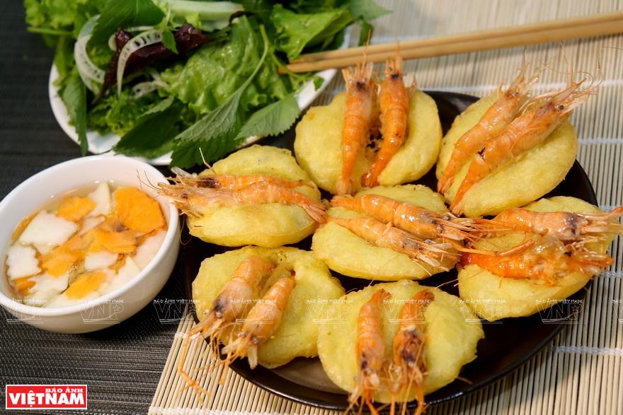 Bánh tôm Hồ Tây - Báo ảnh Việt Nam