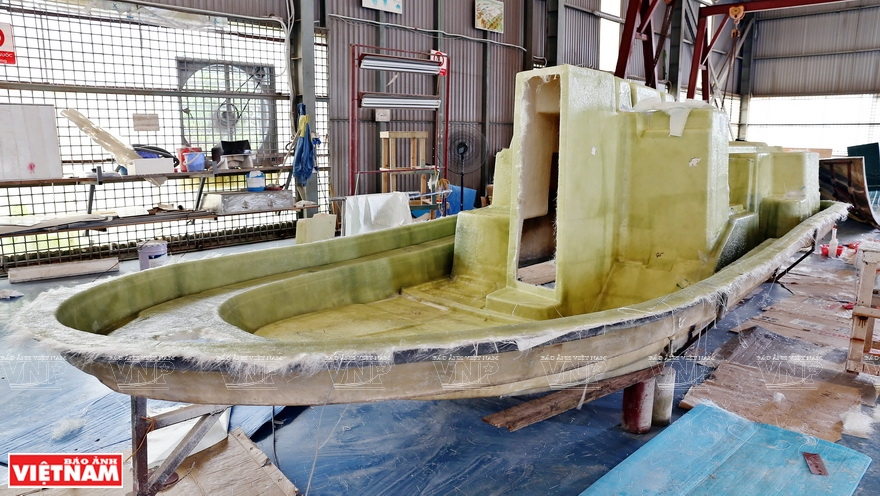 James Boat: Building ships with new materials - Vietnam