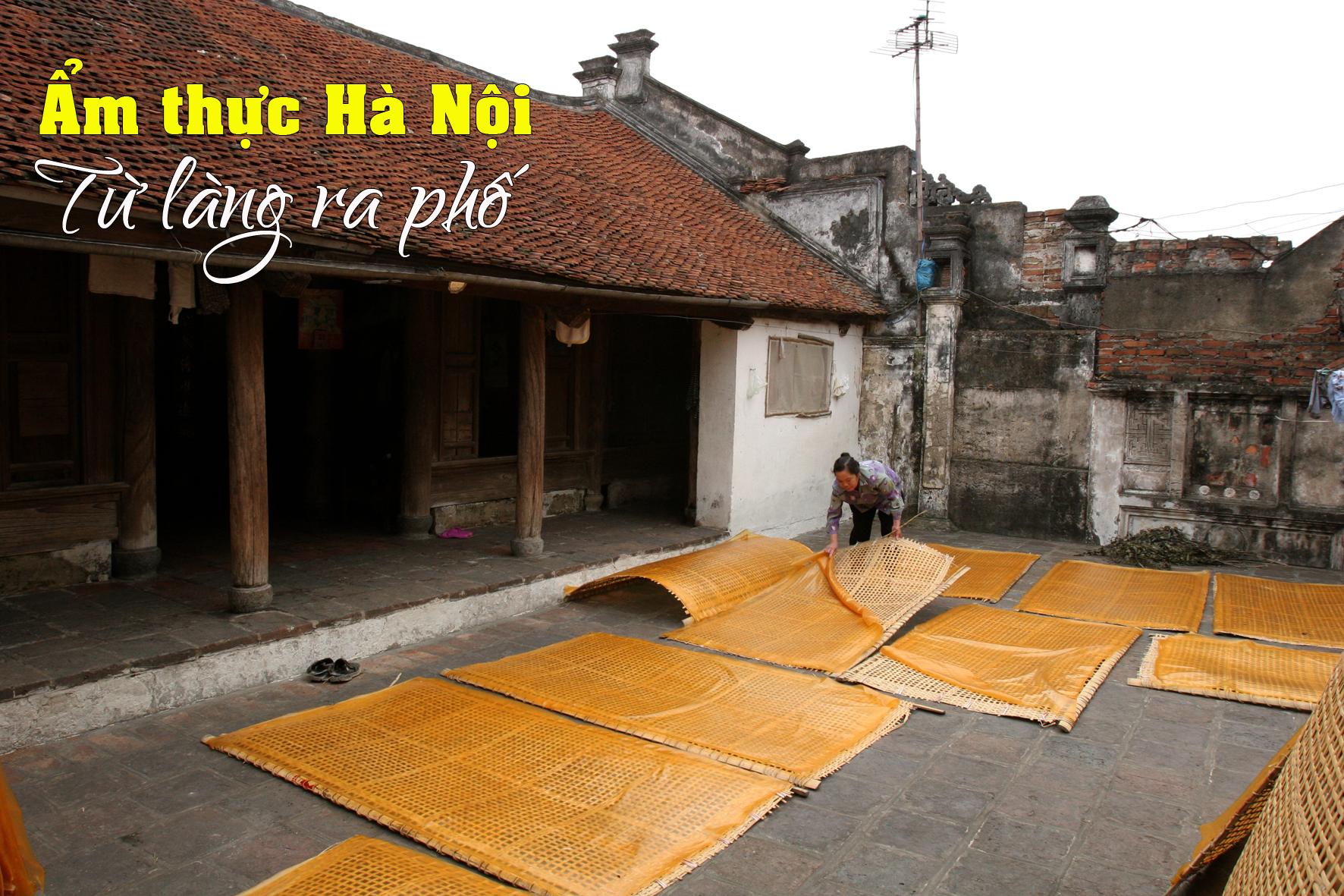 Ẩm thực Hà Nội:Từ làng ra phố