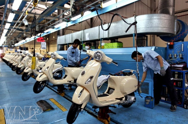 Supporting Industry of Motorcycle Manufacturing - Vietnam Pictorial