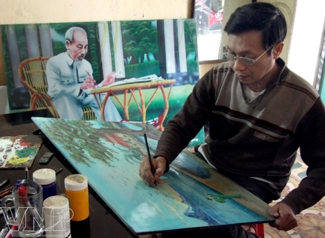 Nghệ thuật sơn mài Cát Đằng - Báo ảnh Việt Nam
