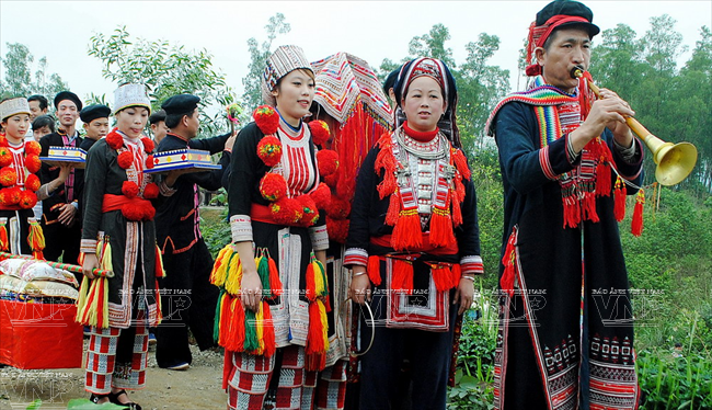 Lễ cưới của người Dao đỏ ở Tuyên Quang - Báo ảnh Việt Nam