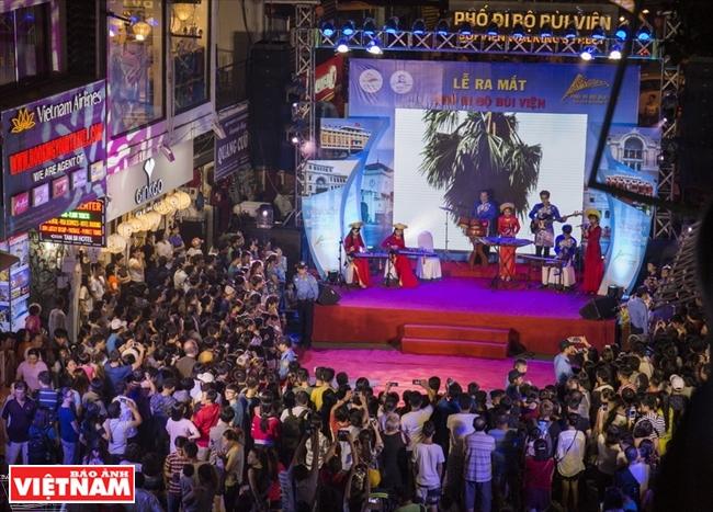 """Bui Vien, """"calle occidental"""" en Ciudad Ho Chi Minh"""
