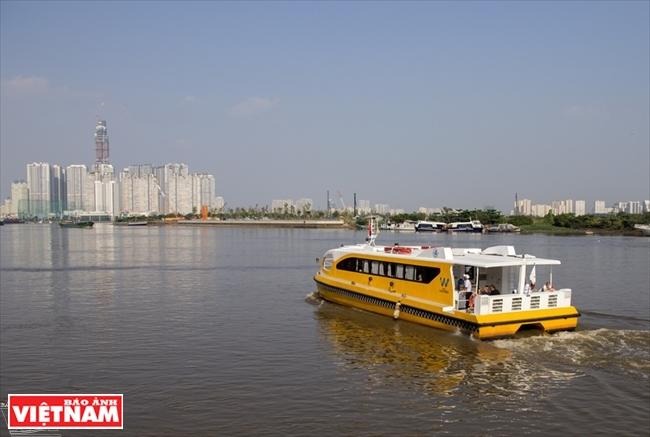 Речной трамвай Сайгона