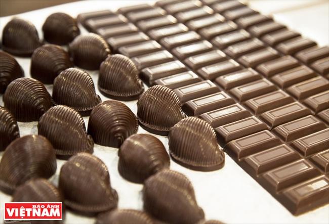 ティエンザン(Tien Giang)省におけるチョコレート
