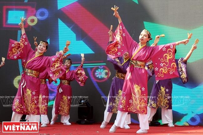 ハノイ市民に魅力を与える日本文化