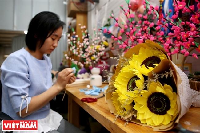 Бумажные цветы Flower Farm