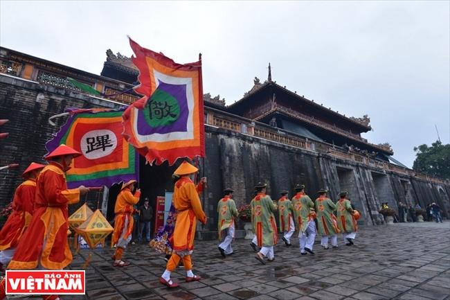 Rituales reales en la antigua capital imperial