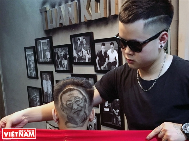Hairstylist makes barbering an art