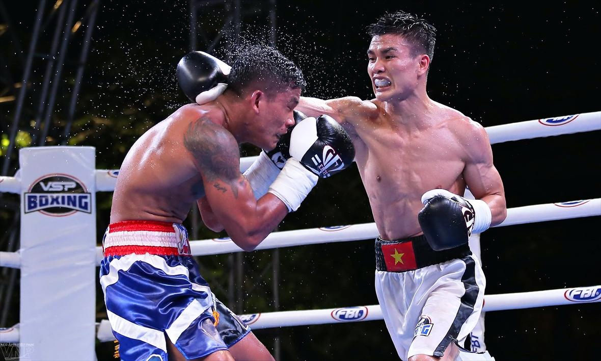 Victory 8:ハノイで行われたWBAプロボクシング戦