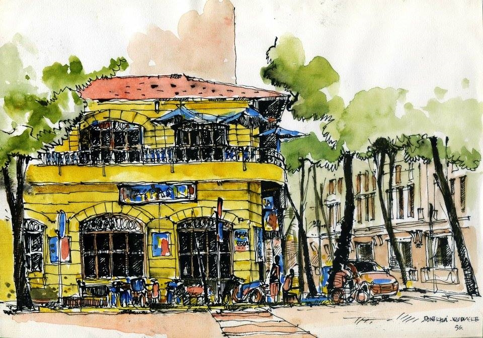 Đô thị Việt Nam qua góc nhìn ký họa