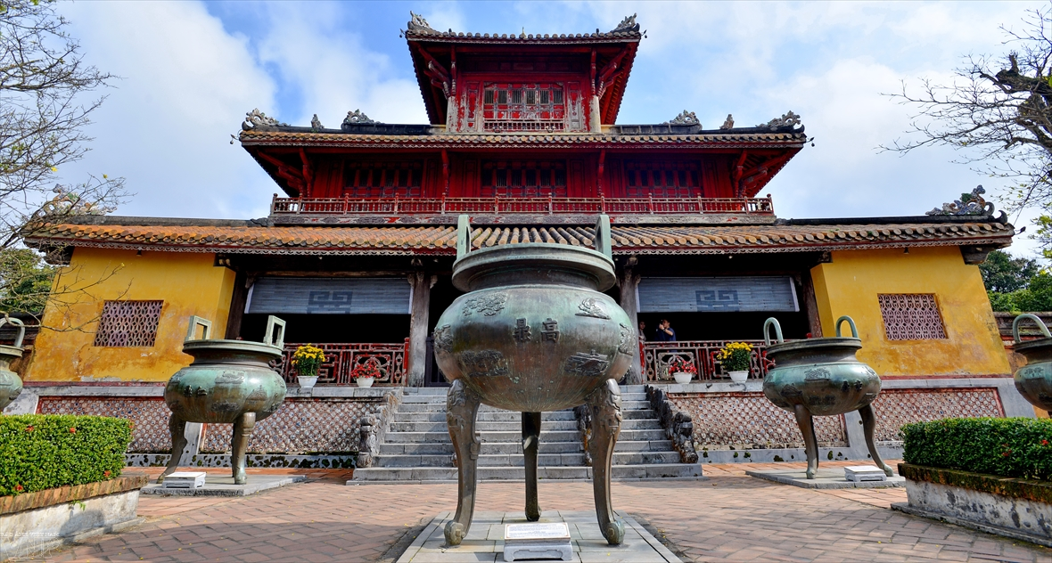 Aldea de fundición de tesoros nacionales en Hue