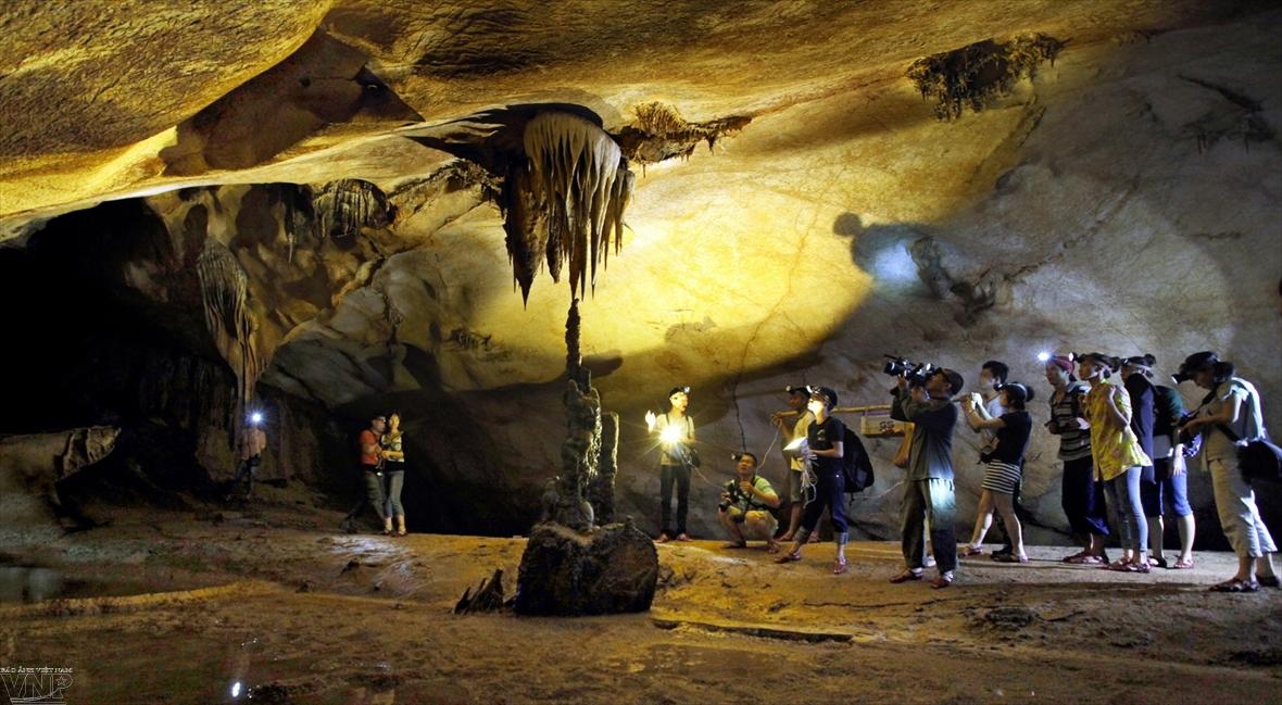 La découverte de la grotte Thien Duong  une  expérience inoubliable