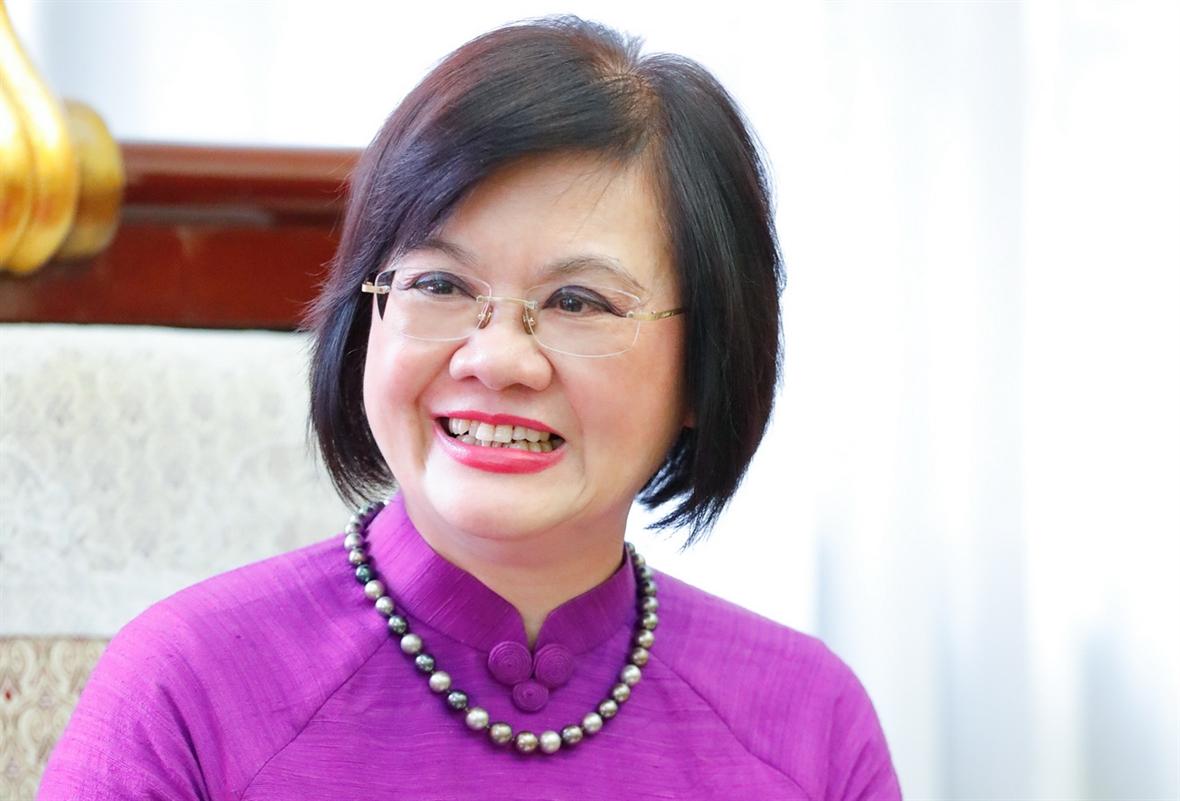 Nguyên Nguyêt Nga diplomate  dévouée  à lintégration économique mondiale du Vietnam