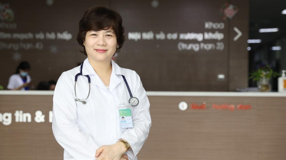 Doctora Vu Thi Thanh Huyen: dedicación a la medicina