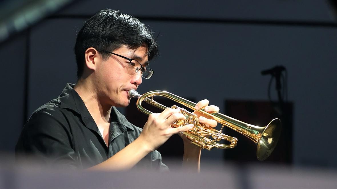 El trompetista Yuki Urushihara