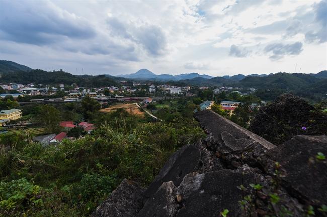 ドンダン(Dong Dang)砲台:1979年2月の歴史的な戦争跡